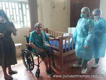 Idosos do Lar dos Vicentinos de Cruzeiro do Sul fazem exames de Covid-19 - Jurua em Tempo