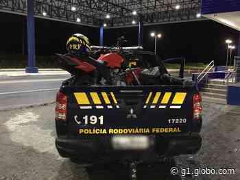 PRF prende condutor e apreende motocicleta adulterada em União dos Palmares, AL - G1