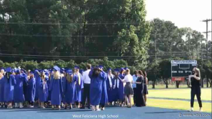West Feliciana High School holds Class of 2020 graduation ceremony