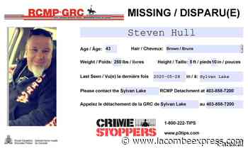 Sylvan Lake RCMP continue search for missing man - Lacombe Express