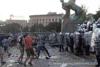 Serbia bans mass gatherings after virus lockdown protests - Sylvan Lake News