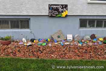 """Our Community Rocks"" garden shares message of hope in Eckville - Sylvan Lake News"