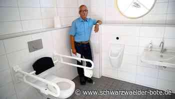 Horb a. N.: Ein WC mit langer Entstehungsgeschichte - Schwarzwälder Bote