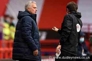 Jose Mourinho believes match officials should explain their decisions - Dudley News