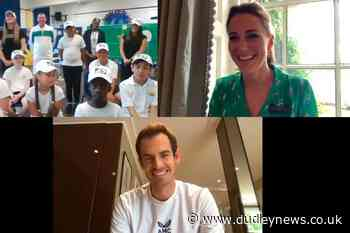 Kate serves up tennis star Sir Andy Murray to young fans - Dudley News