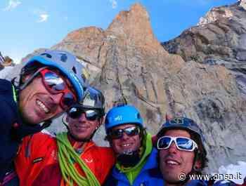 Alpinismo: aperta nuova via su pilastro rosso del Brouillard - Agenzia ANSA