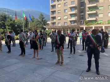 Fase 3: sindaci valdostani manifestano sotto Regione - Agenzia ANSA