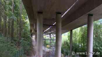 Bauarbeiten-Panne: A46 bei Wuppertal eingeschränkt