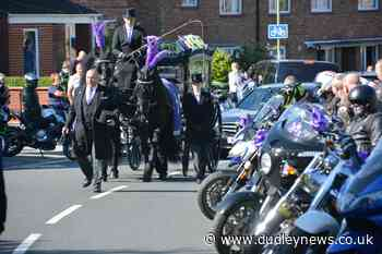 Hundreds of bikers attend funeral of Louise, 16 | Dudley News - Dudley News