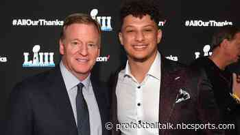 Mahomes trusts NFL, NFLPA to find a good plan to get back to work