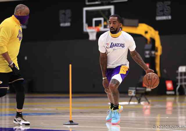 JR Smith Showed Inside Lakers Hotel Before Being Told To Stop Instagram Live