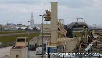 Aéroport de Paris-Le-Bourget : NGE assure la réfection de la plus longue piste - Construction Cayola