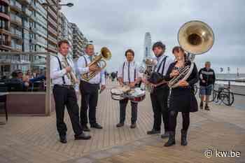 Hele zomer mobiele muzikale acts in Middelkerke en Westende