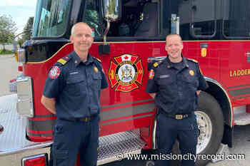 District of Mission promotes two new assistant fire chiefs - Mission City Record