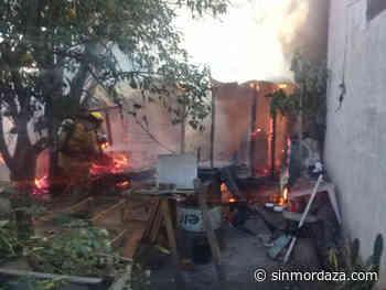 Reconquista: se incendió una vivienda en barrio Sarmiento - Sin Mordaza
