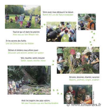 séjour nature bilingue A la Croisée des Chemins dimanche 2 août 2020 - Unidivers