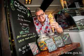 De Troubadour wordt ijsjesboer: Berchemnaar John Verbeeck he... (Berchem) - Gazet van Antwerpen