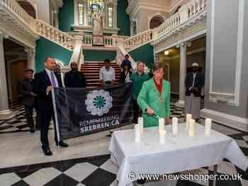 Greenwich flies flag to commemorate Srebrenica genocide