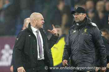 Sean Dyche not expecting 'hungry' Liverpool to ease off - Enfield Independent