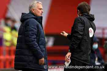 Jose Mourinho believes match officials should explain their decisions - Enfield Independent