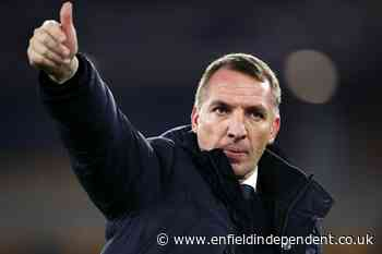 Brendan Rodgers warns Leicester players over Champions League thoughts - Enfield Independent