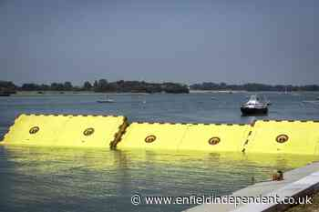 Venice puts inflatable flood barriers to the test - Enfield Independent