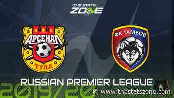 2019-20 Russian Premier League – Arsenal Tula vs Tambov Preview & Prediction - The Stats Zone