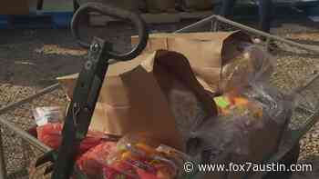 Food distribution at Grace Baptist Church in Bastrop County - FOX 7 Austin