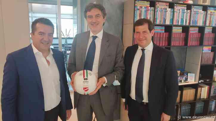 Calcio, il presidente del Teramo riceve in azienda il Governatore d'Abruzzo - ekuonews.it