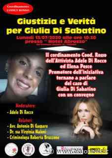"""Teramo, un convegno per Giulia Di Sabatino """"VERITA' E GIUSTIZIA"""" - ekuonews.it"""