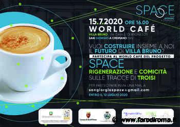 Il progetto Space va a San Giorgio a Cremano ea Teramo per rigenerare la loro programmazione culturale e architettonica - Farodiroma