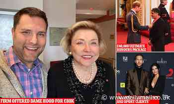 Honours scandal exposed: Leaked emails reveal cynical offer to help author become a dame