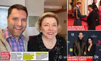 Honours scandal: Firm boasted it could get 'damehood for £80k'