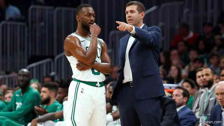 Celtics Held First Practice In Orlando After All Players Tested Negative