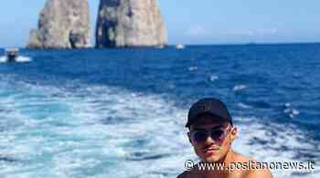 Calcio. Eljif Elmas in barca a Capri - Positanonews - Positanonews
