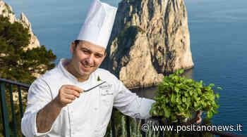 """Capri. Lo chef Luigi Lionetti: """"Ripartire dalle Tradizioni e dai prodotti del territorio, l'eccellenza che nasce dalla semplicità"""" - Positanonews - Positanonews"""