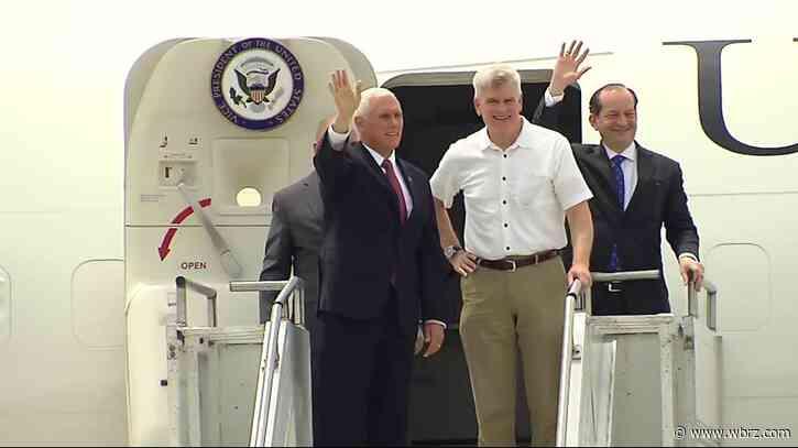 VP Mike Pence visiting Baton Rouge next week to discuss coronavirus response with Gov. Edwards