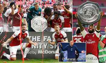 Arsenal lined up for Community Shield - EVEN if they lose to Man City in FA Cup semi-final