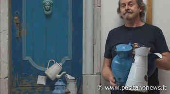 Capri. Botteghelle Street, l'installazione pittorica di Paolo Quaresima in mostra alla Liquid Art System dal 18 luglio - Positanonews