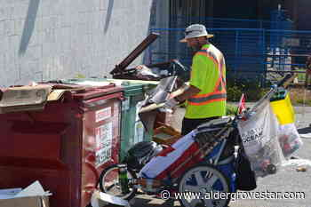 Man running across Canada removing litter stops to help clean up Aldergrove - Aldergrove Star