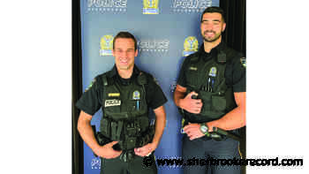 Quick action by Sherbrooke police officers saves a life - Sherbrooke Record