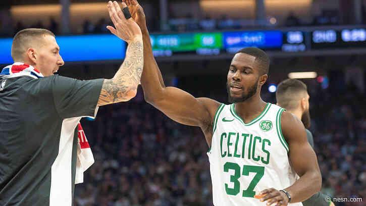 Celtics' Semi Ojeleye Will Wear Powerful Message On Jersey Upon NBA Return