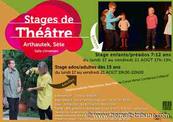 SETE - Stage de théâtre d'improvisation du 17 au 21 Août - Hérault-Tribune