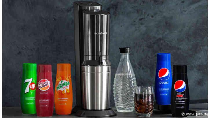 Wassersprudler CRYSTAL 2.0 mit PepsiCo-Sirups von SodaStream gewinnen!