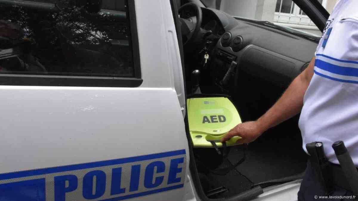 La police municipale de Vitry-en-Artois dotée d'un défibrillateur - La Voix du Nord