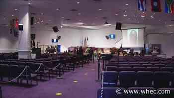 Community mourns David Gantt at public viewing