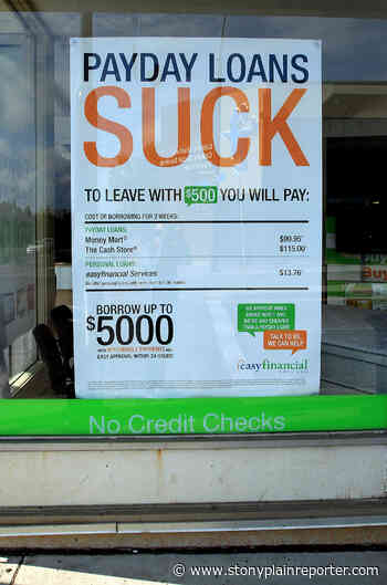 Payday loans 'ungodly,' Canadian finance committee chair says - Stony Plain Reporter