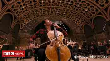 Sheku Kanneh-Mason returns to a socially distant stage
