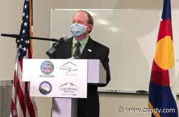 Mayor Suthers notes COVID spike, warns a mask mandate might be coming