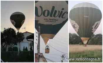 Six montgolfières ont survolé Riom à basse altitude jeudi dans la soirée : une scène insolite, mais rien d'anormal - La Montagne